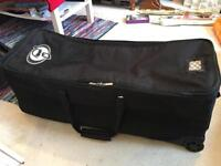 "Protection Racket Hardware Case 38""x 13""x 13"" with wheels."