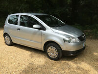 VW FOX 1.2. 3 Door Hatch. Petrol.