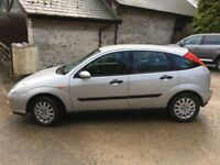 2001 (51 plate) Ford Focus 1.6 petrol - Silver
