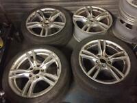 4x Bmw f30 alloy wheels Need refurbish
