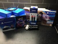 PlayStation 4 VR headset & Accessories & Games.