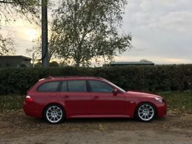 Bmw e61 520d m sport imola red 2009/59