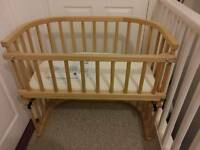 ***** BabyBay Co Sleeping Deside Crib/Cot Original plus accessories *********