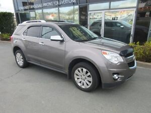 2011 Chevrolet Equinox LTZ AWD WITH LEATHER