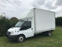 FORD TRANSIT 125 t350 12FT LUTON VAN 2012 12-REG *AIR CON* FULL SERVICE HISTORY DRIVES LIKE NEW