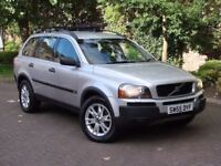 6 MONTHA AA WARRANTY!!! 2006 VOLVO XC90 2.4 D5 SE AWD 1 OWNER FROM NEW, FSH, 7 SEATER, FULL LEATHER