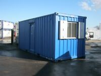 20ft x 8ft Anti Vandal Portable Cabin Site Office FOR SALE welfare unit shipping container man cave