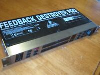 BEHRINGER FEEDBACK DESTROYER PRO/EQ
