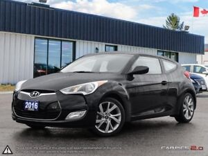 2016 Hyundai Veloster Base,ECO,REARVIEW,B.TOOTH,PADDLE SHIFTERS