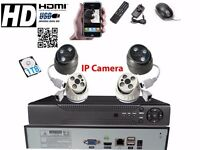 4 full HD Outdoor Cameras 8Ch AHD NVR CCTV System 1TB Complete Kit Plug&Play P2Psystem