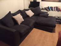 Large L shaped couch