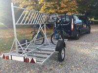 Bike trailer - £300 ONO - 18 bikes capacity