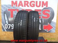 AA.273 1X 155/65/14 75T 1X5MM TREAD CONTINENTAL ECO CONTACT3 - USED TYRES