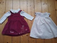 Baby girl clothing bundle age 6-9 months (34 items)