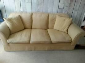 Laura ashley 3 seater + 2 seater sofa