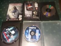 Horror film dvd collection