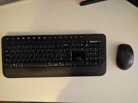 Microsoft 2000 wireless mouse and keyboard
