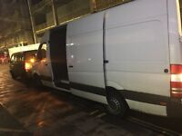 MAN AND VAN HOUSE REMOVAL SERVICE DELIVERY RUBBISH CLEARANCE COLLECTION 24/7 SHOTR NOTECE CARPENTERY