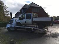Recovery service van 4x4 car scrap damaged wanted jet ski caravan