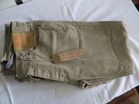 "Mens Beige Jeans F&F New with Tags 30"" x 30"""