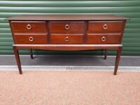 Stag Dressing Table, Chest of 6 Drawers, Desk ( Item 2)
