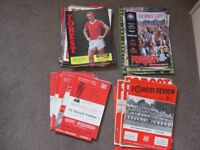 Collection of Nottingham Forest Programmes inc European games - good condition