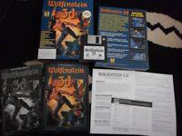 vintage ibm wolfenstein 3d game big box very very rare OFFERS