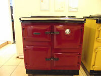 Claret Rayburn 480k - Country Style Cookers Ltd