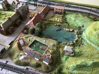 00 gauge model railway