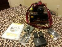 Nikon D3200 18-55mm VRkit for sale. Barely used.