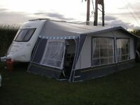 Caravan Awning 950 cm Inaca Sands Acrylic IXL Poles