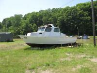 Royer stell haul boat 32'