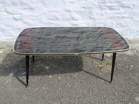 Iconic Retro Style 60's Coffee Table