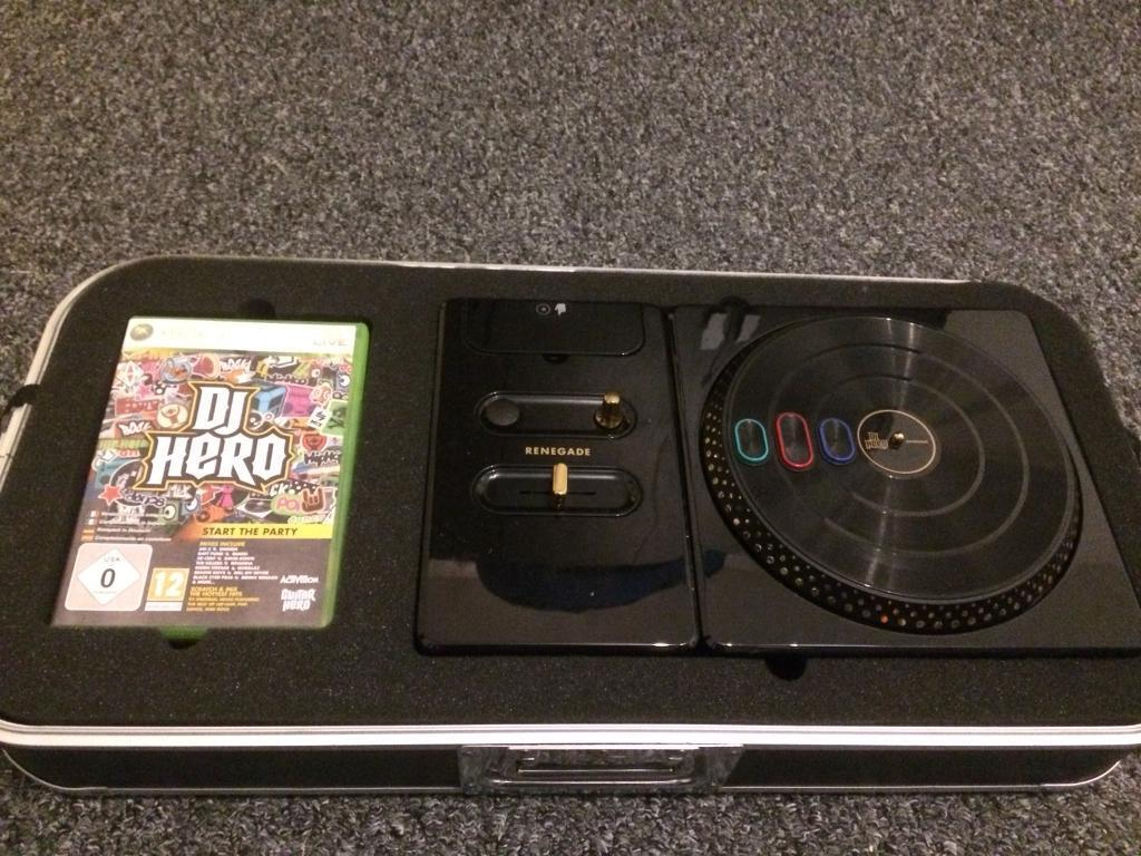 DJ Hero Renegade Xbox 360