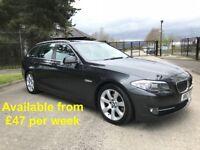 BMW 520D Touring (530d, A4, A6, 320d, Passat, Estate, Avant) £47 per week