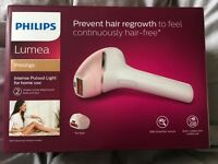 Philips Lumea BRI950 Prestige IPL Hair Removal Device for Body & Face