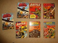 Bundle of 58 Adventure Annuals: Battle, Victor, Hotspur, Lion, Hurricane and others
