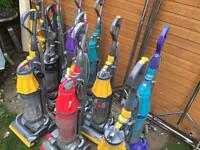 Job lot of 10 Dyson vacuum cleaners dc14 dc07