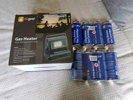 Higear Gas Heater and cartridges