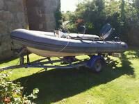 Avon 4.2 searider Rib boat
