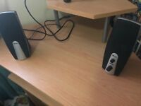 Speakers and key board