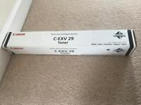 Canon C-EXV 29 Black Printer Ink New