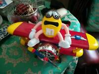 M&M collectable plane