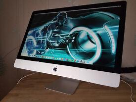 """27"""" Apple iMac - Intel 3.06 Ghz Cpu - 8gb Ram - 1 Tb HD - Logic Pro X - Office - Final Cut Pro"""