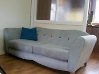 Dove Grey Couch. 1 year old. Good condition