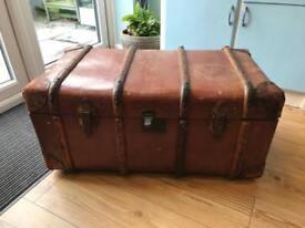 Genuine Vintage steamer trunk