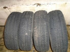 tyres 165/70/14