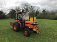 KUBOTA l2850 Tractor for sale with transport box