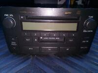 Toyota Avensis Mk2 - W53900 Stereo / Radio / CD Player / Head Unit - 86120-05070