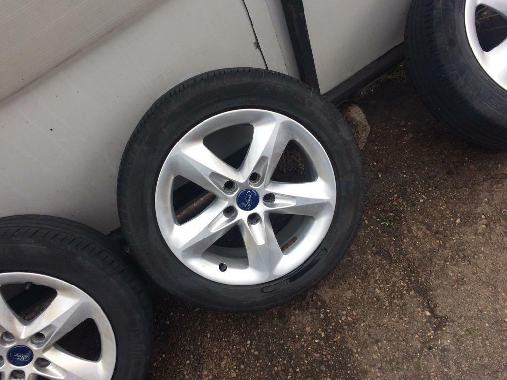 Ford Focus Alloy Wheels In Nottingham Nottinghamshire Gumtree